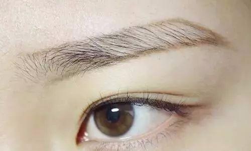 一字眉怎么修图解 画眉毛教程一字眉的画法