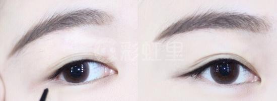 眼线胶笔怎么画 眼线胶笔画眼线教程