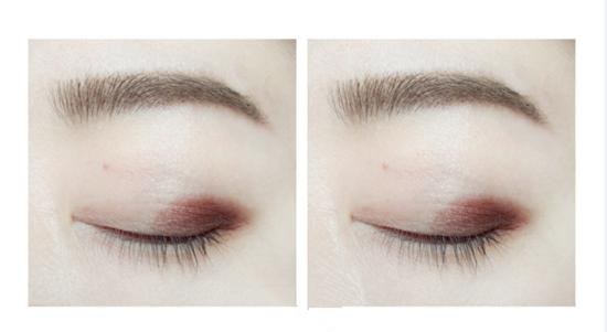 梅子色眼影教程 日常妆容梅子色眼影的画法