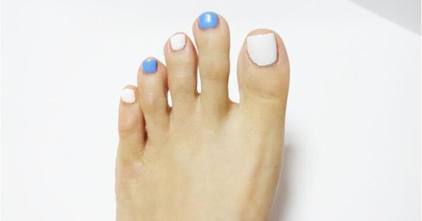 脚指甲美甲怎么好看 时尚脚美甲图片教程