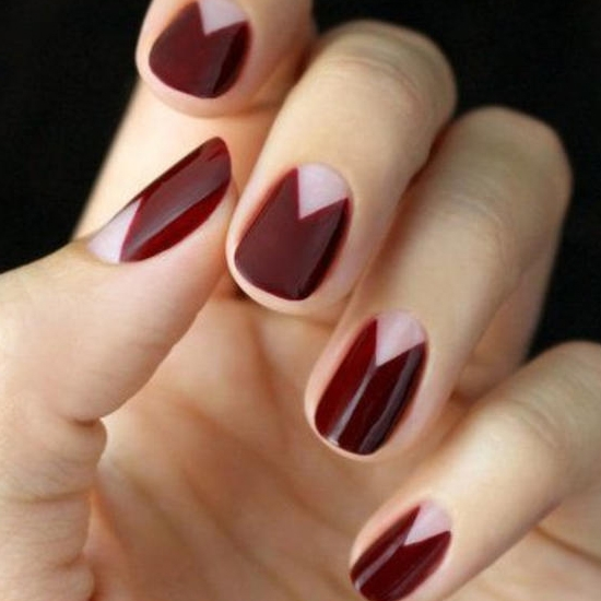 红色指甲图片美甲款式 夏季红色美甲图片大全