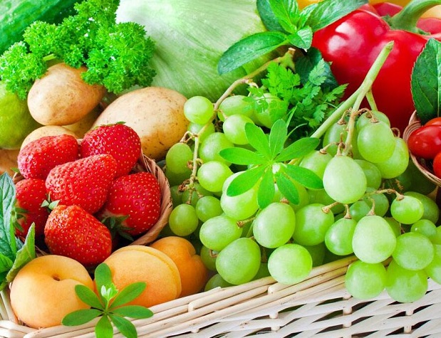 多吃水果和蔬菜防止皱纹产生