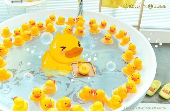 QQ音乐 × B.Duck小黄鸭联名礼盒,让音乐加倍潮酷