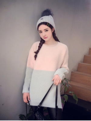 马海毛毛衣款式图片 轻奢感来袭