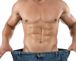 男人大肚子减肥方法 少肉多菜曲膝抬腿
