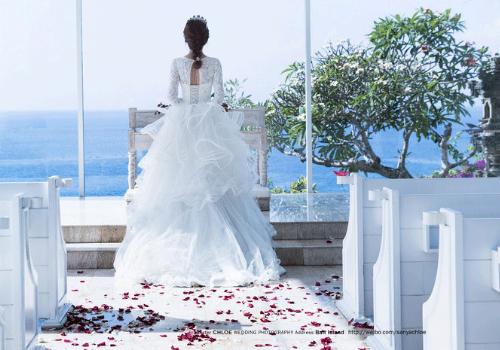 婚纱照只想拍一套 谁有过满脸痘痘去拍婚纱照