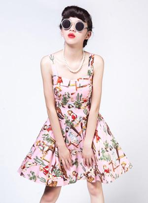 赫本风连衣裙款式图片 不止小黑裙