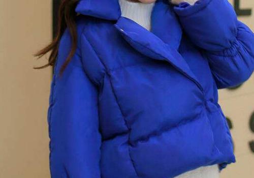 蓝色棉袄内搭什么颜色毛衣 配什么裤子
