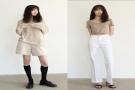 2020年最火女生简约干净的气质日常穿搭,极简色穿出清冷高级感