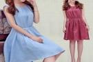 棉麻森女连衣裙搭配什么鞋子,这三个棉麻连衣裙穿搭减龄时尚