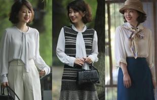 50至60岁的女性入秋怎么穿?风衣外套是必备,美得知性又优雅