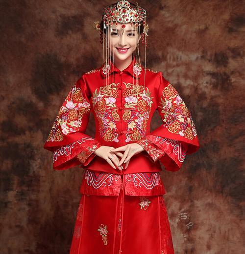 秀禾服新娘造型图片,分享三种造型搭配
