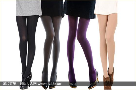 丝袜高跟鞋搭配图片 多种颜色丝袜搭配展现不同气质的你