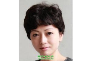 中老年妇女烫发发型设计