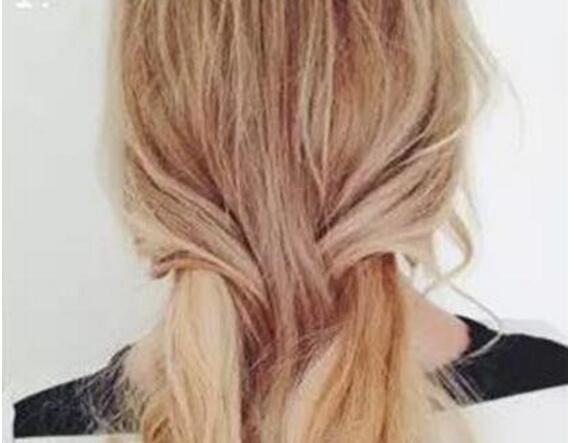 玫瑰花编发发型教程图片 示范玫瑰花编发如何扎