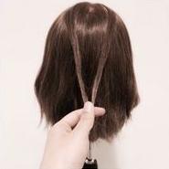 日系萌妹发型超好看 简单慵懒式发型扎法