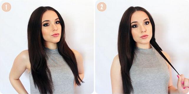 发型怎么弄女人味十足 自己卷发怎么弄图解